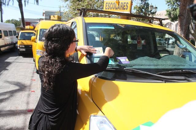 Autoridades realizaron fiscalización a Transporte Escolar 2015 en Vallenar
