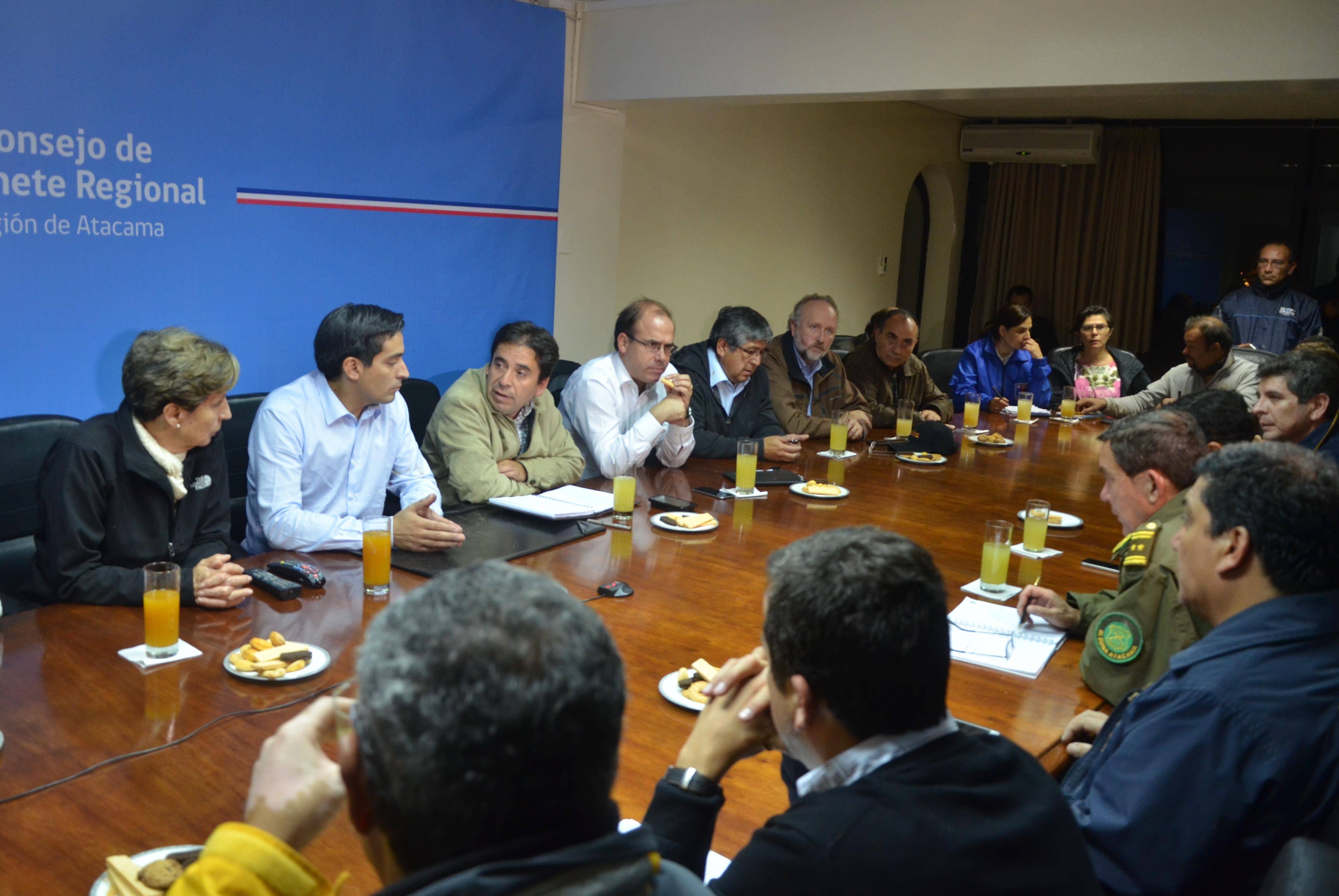 Ministro del Interior anuncia Plan del Gobierno para enfrentar catástrofe en Atacama