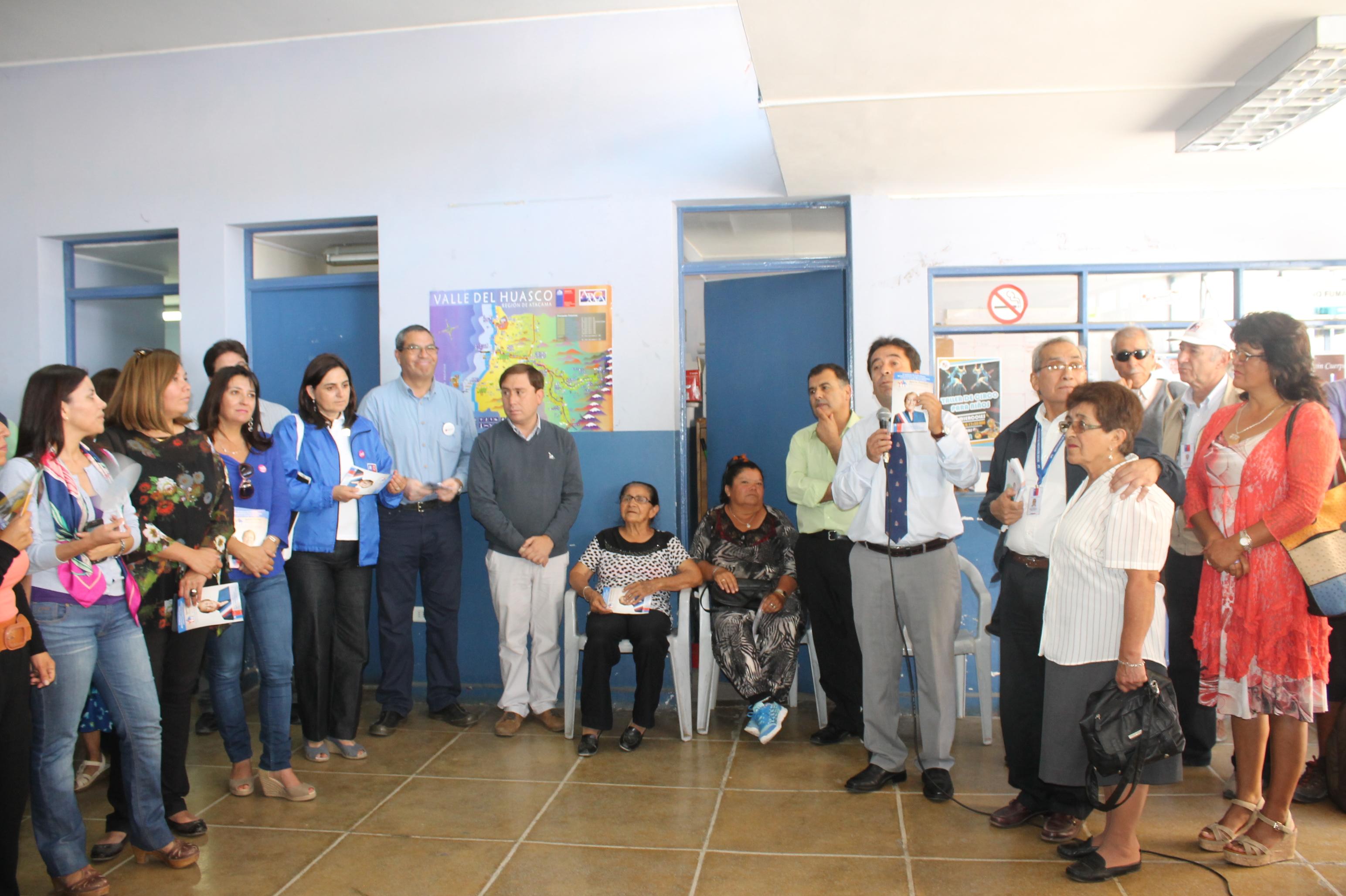 En Freirina se realizó Gobierno en Terreno con presencia de Intendente