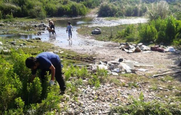 Realizan trabajos de recuperación en terrenos de Callejón Martínez en Vallenar