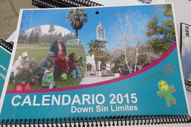 Agrupación Down Sin Límites de Vallenar lanza calendario para ir en ayuda de Alto del Carmen