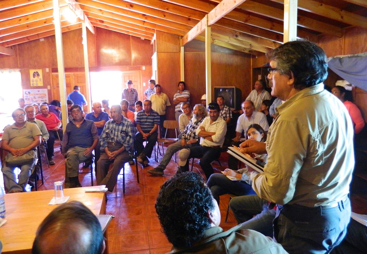 $1.200 millones de pesos dispondrá Ministerio de Minería para apoya a pequeños mineros de zonas afectadas