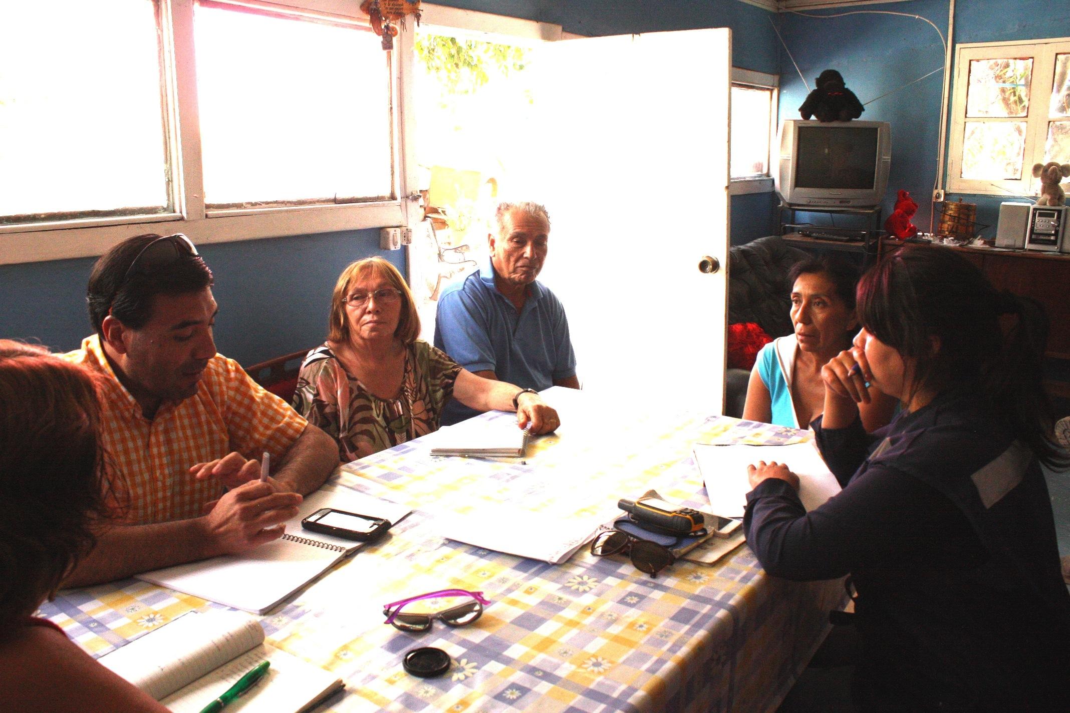 Junta de Vigilancia del río Huasco se reúne con regantes de Chigüinto para recuperar canales