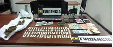 Desbaratan banda chileno-colombiana dedicada al tráfico de drogas en Huasco