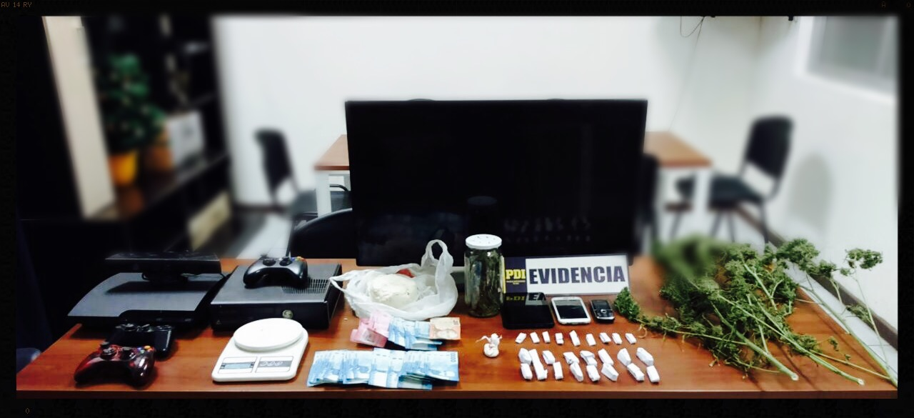 PDI desbarata banda dedicada al tráfico de drogas en Freirina