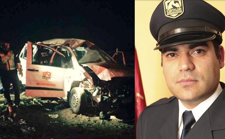 Bombero de Olmué muere en accidente de tránsito tras dejar ayuda en Chañaral