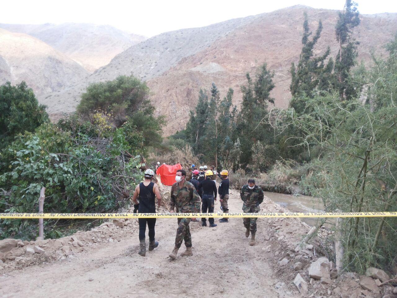 Encontraron el cuerpo de la víctima 29 de la catástrofe en el norte