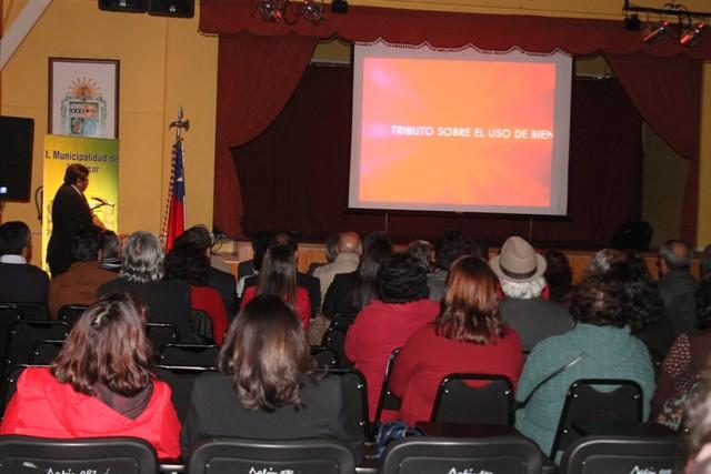 Alcalde de Vallenar entrega Cuenta Pública 2014