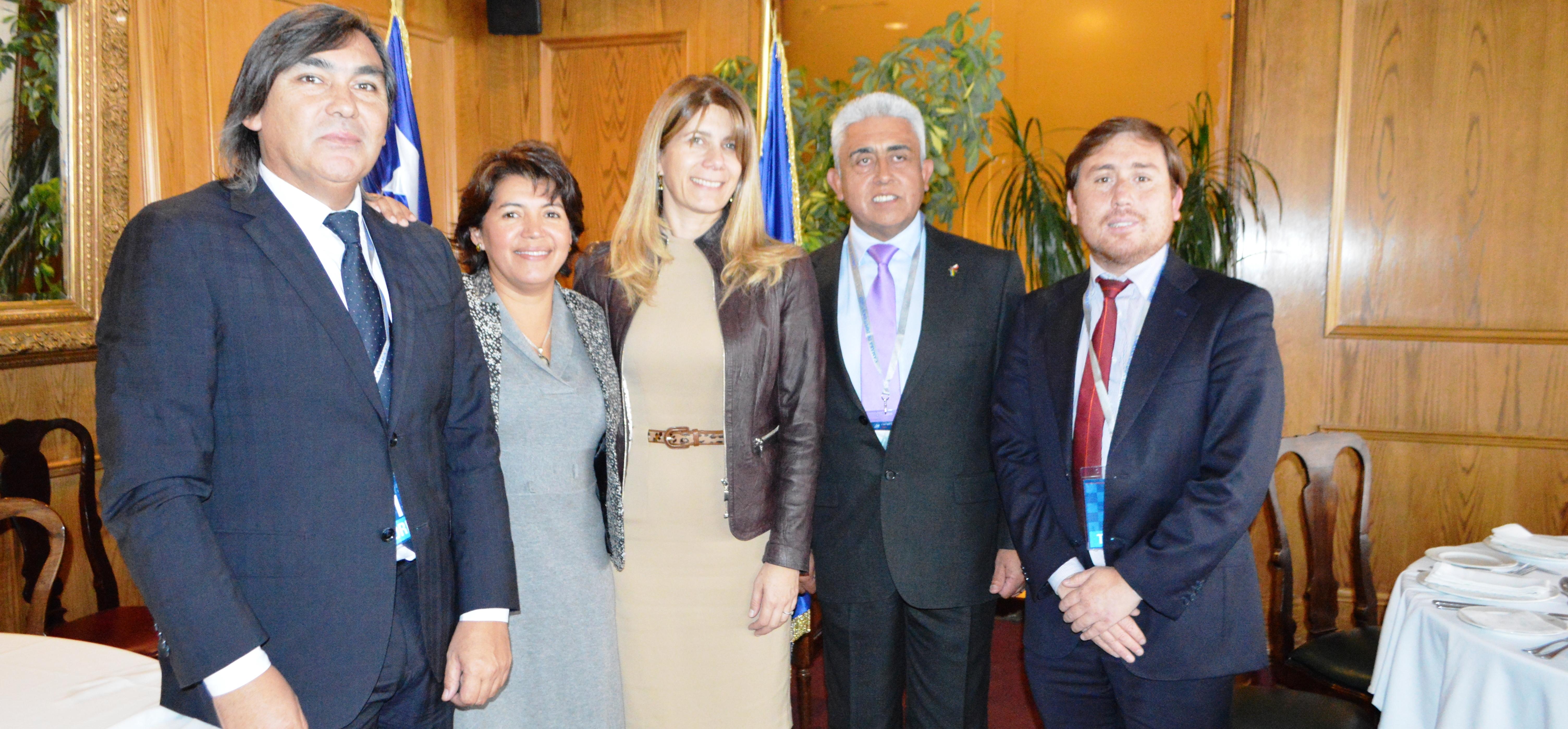Provoste, Loyola y Orellana solicitaron garantizar mayor fuente laboral para la zona a Ministra Rincón