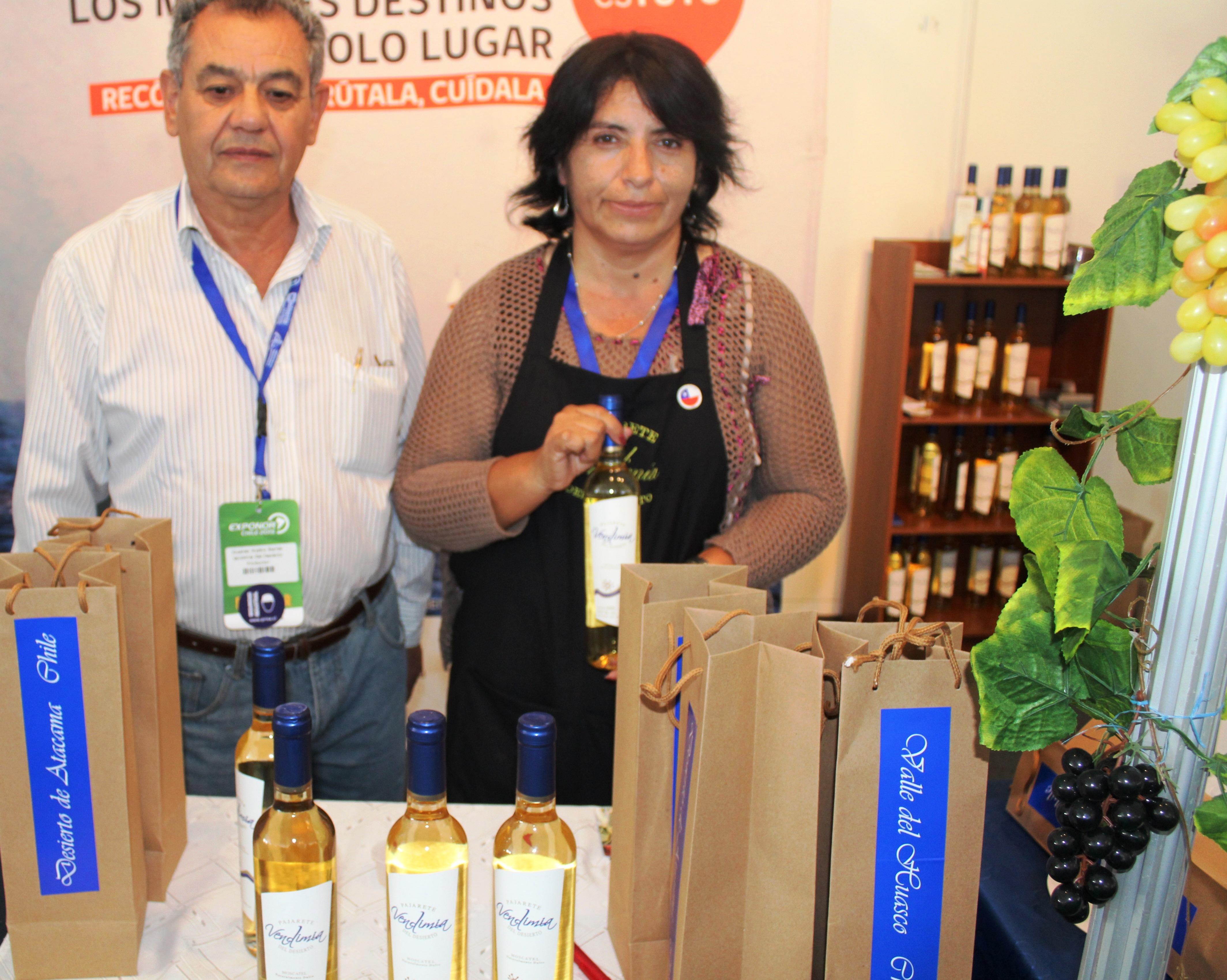 Pajareteros de Alto del Carmen participaron con gran éxito en EXPONOR
