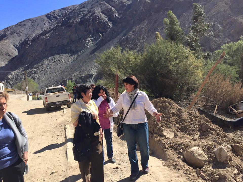 """Provoste advierte a Ministro Burgos preocupación por """"tardanza en la entrega de ayuda"""" para la región de  Atacama"""
