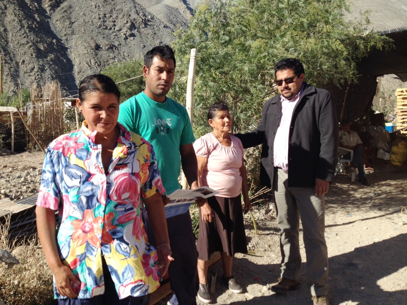 Seremi de Gobierno recorrió las localidades más afectadas de Alto del Carmen
