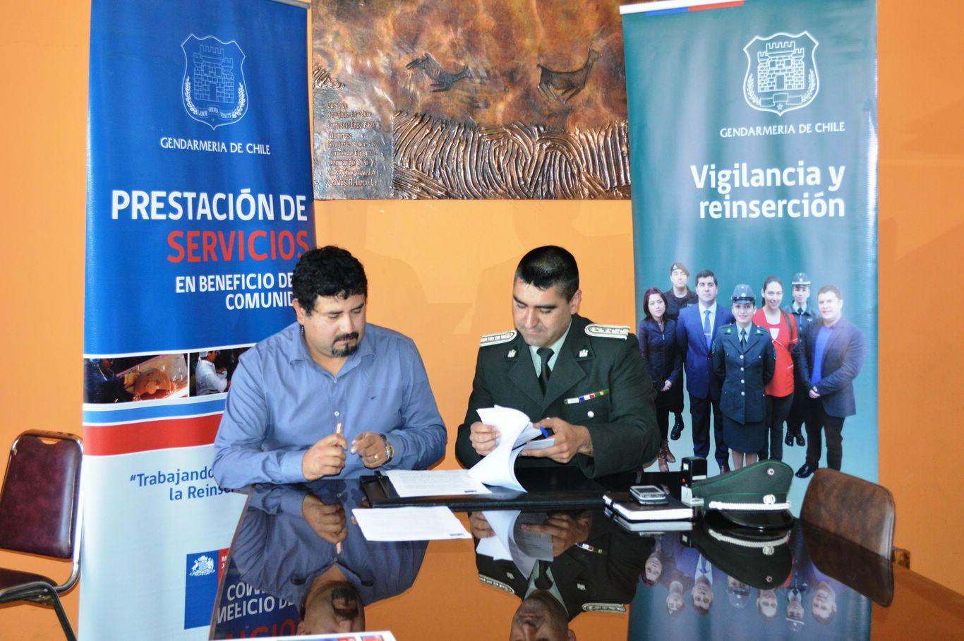 Penados cumplirán condena de trabajo comunitario en junta de vecinos de Vallenar