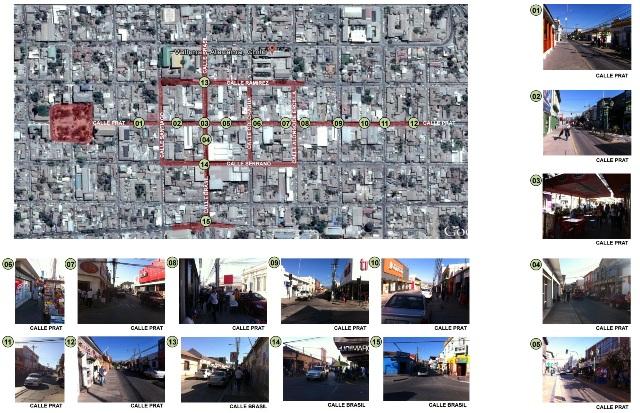 Barrios Comerciales Calles