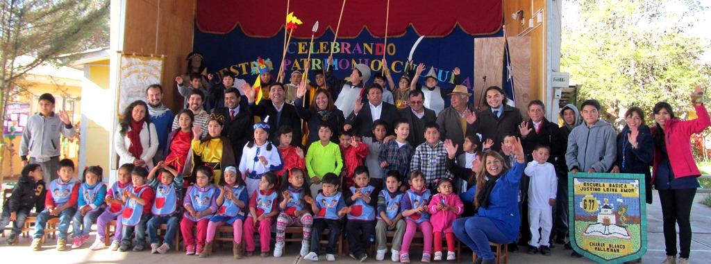 Directora de Cultura celebra día del Patrimonio en Chañar Blanco