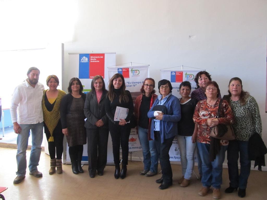 Seremi del Medio Ambiente lanza en Vallenar proyectos FPA de reciclaje y recuperación de áreas verdes
