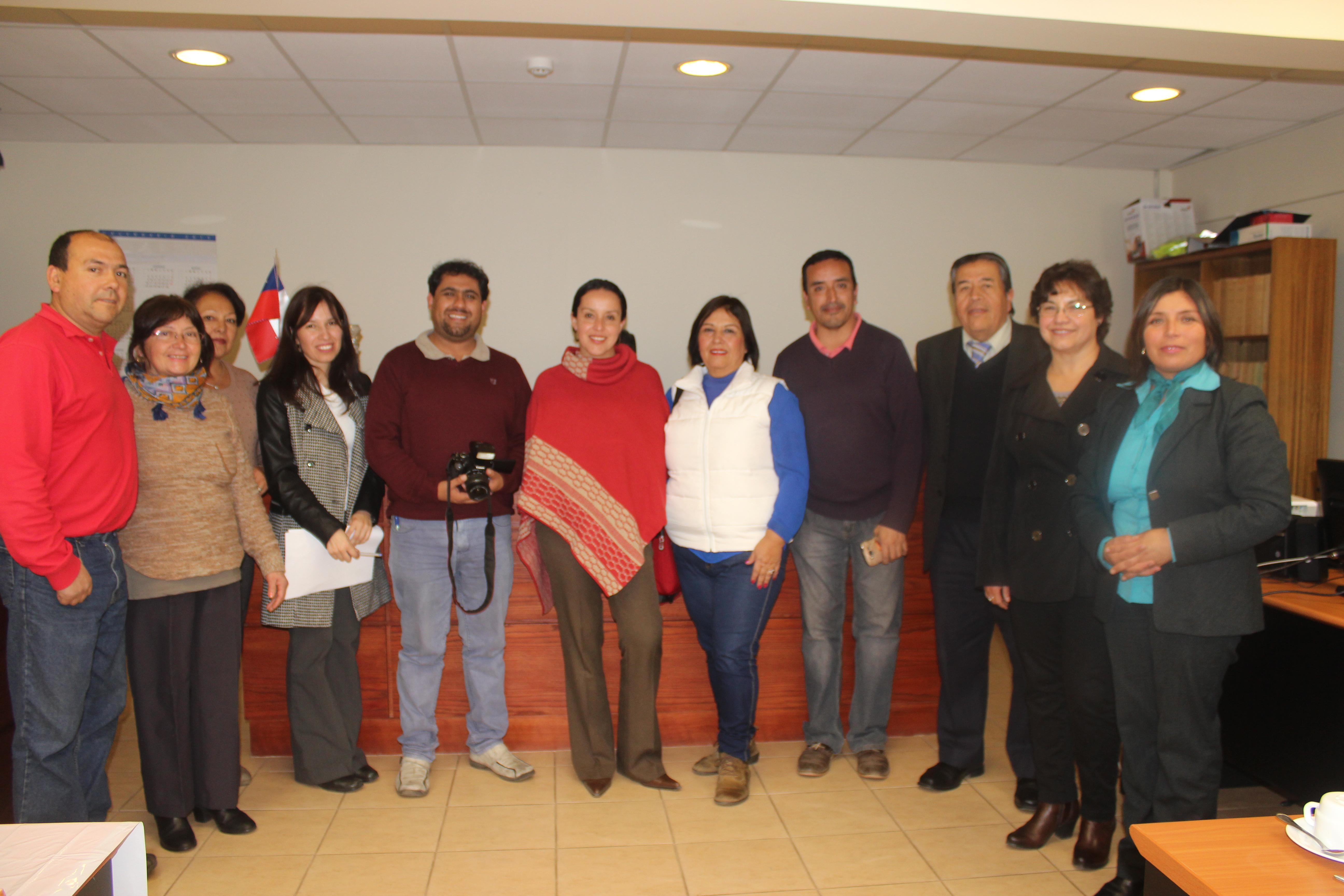 Comunicadores del Huasco realizan importante visita a Juzgado de Letras de Vallenar
