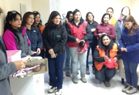 Mina Los Colorados inaugura sala nidal para mamás trabajadoras