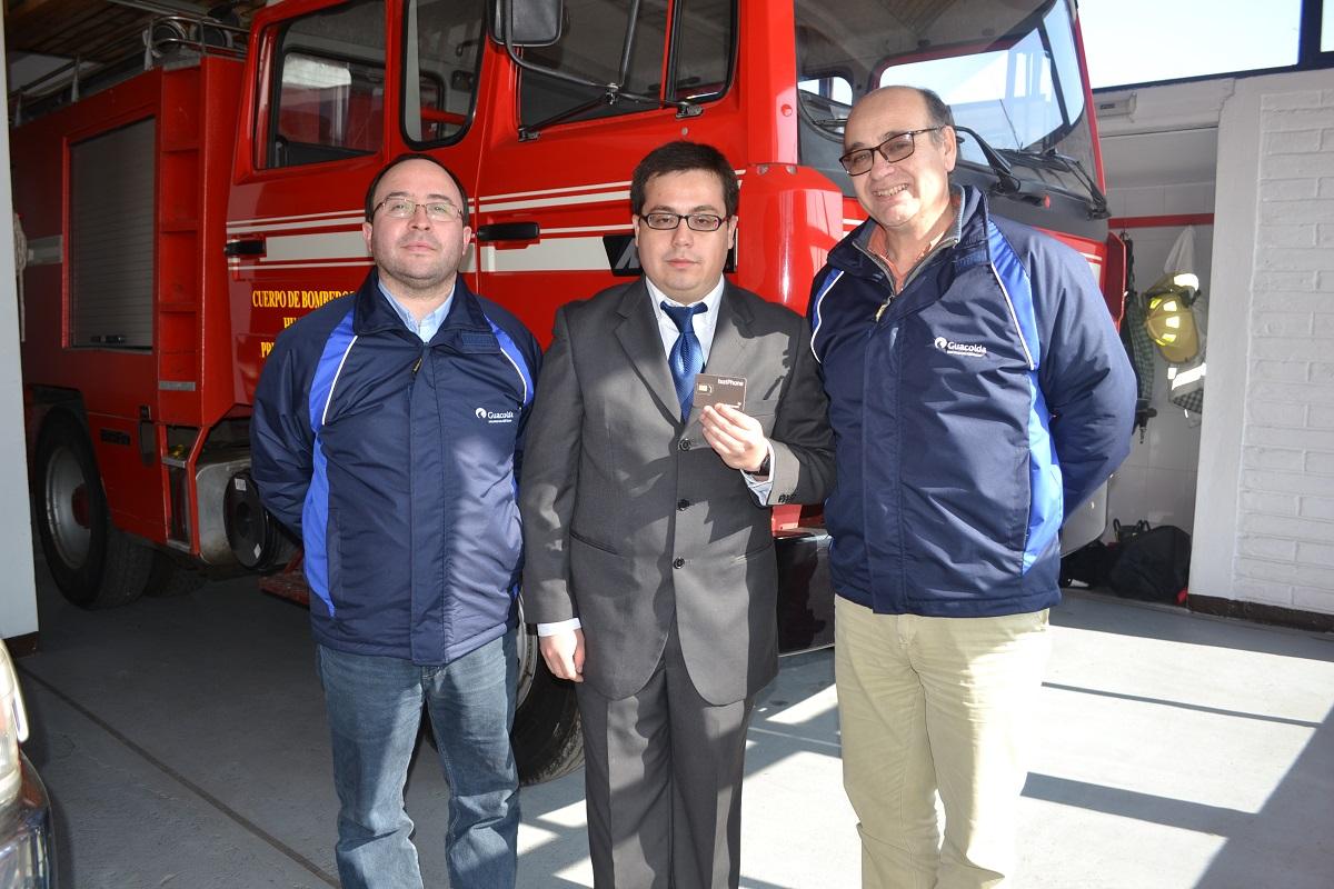 Guacolda entrega plan de cobertura para mejorar las comunicaciones de Bomberos ante emergencias
