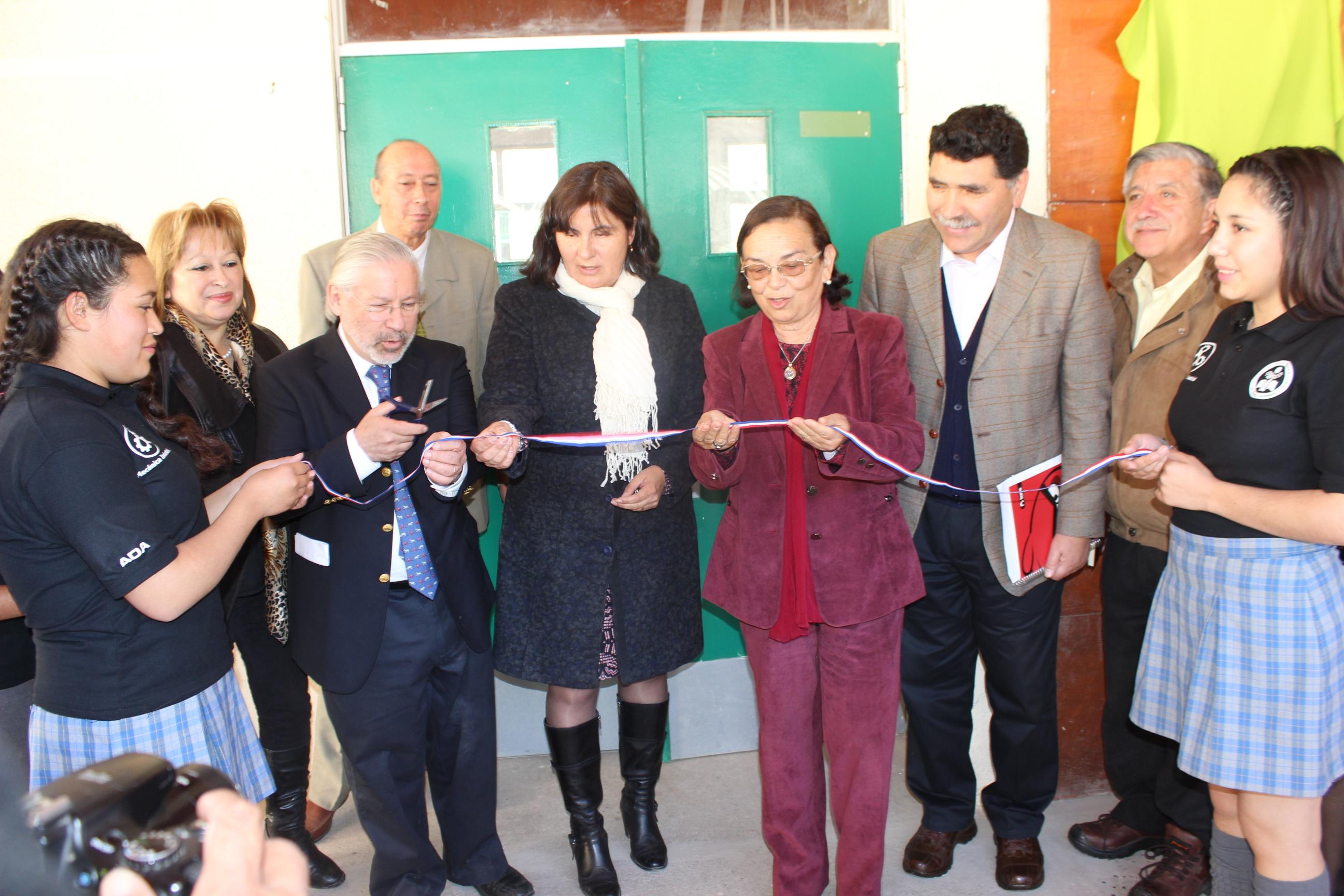 Municipio de Alto del Carmen y Goldcorp El Morro inauguran especialidad de Mecánica Industrial en Liceo