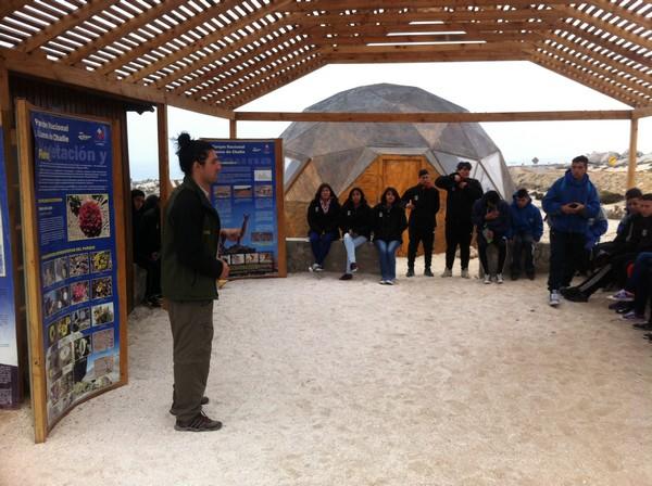 TURISMO LICEO AC visita Huasco