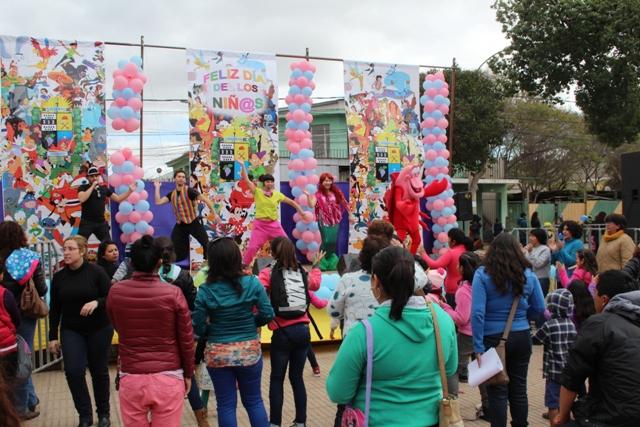 Niños y peques de Vallenar celebraron su día