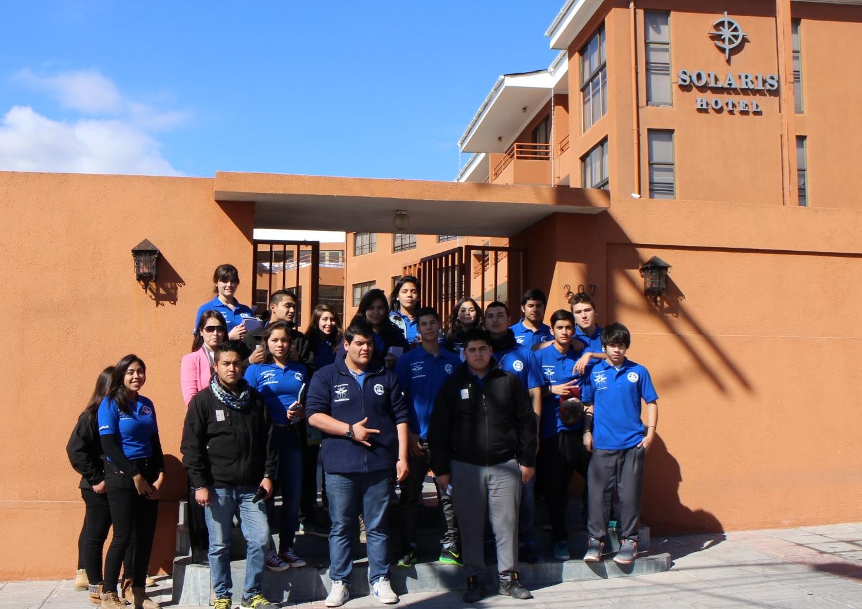 Alumnos de Alto del Carmen visitan hoteles de la provincia del Huasco