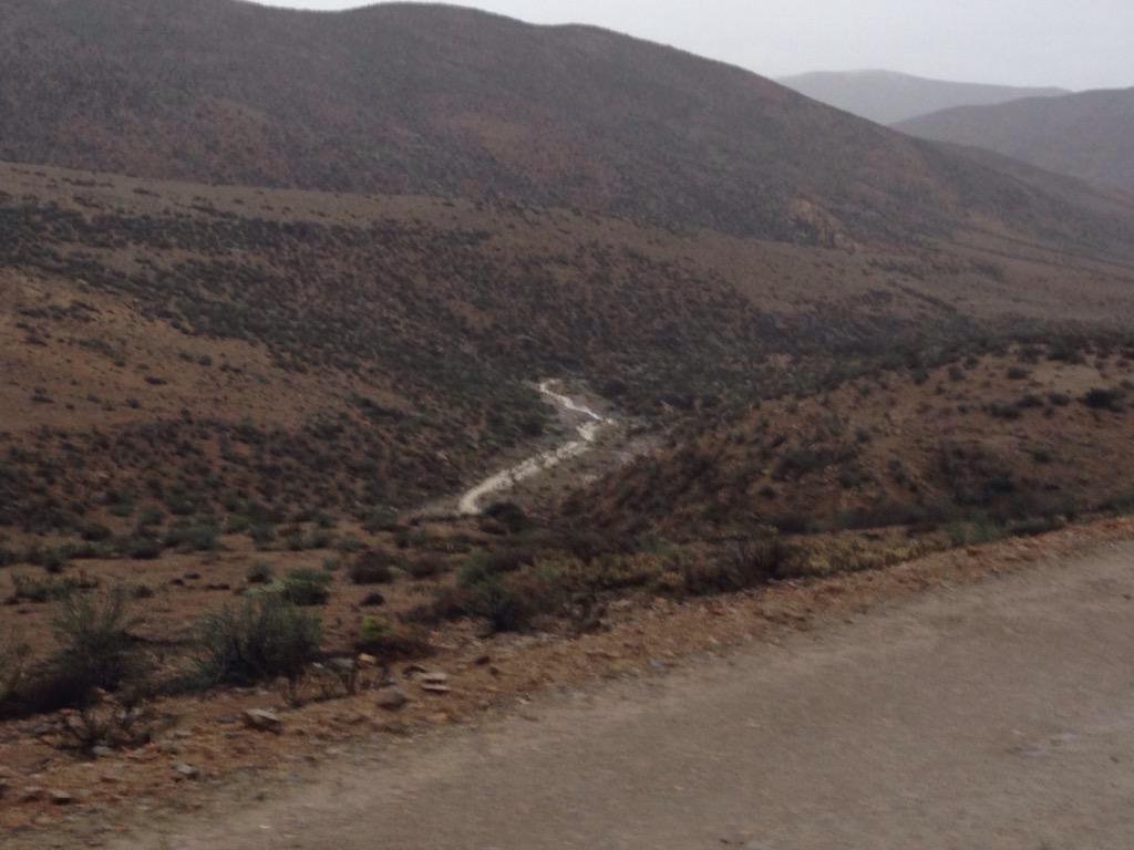Monitorean quebradas en Alto del Carmen ante precipitaciones en la provincia