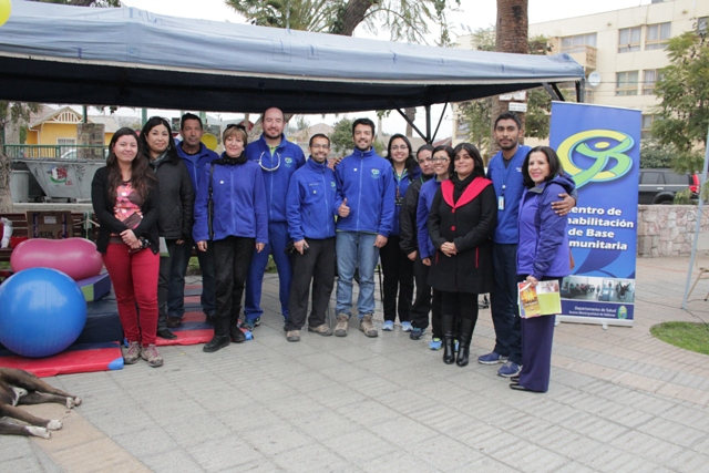 Realizan 1era Plaza de la Rehabilitación Movimiento Sin Límites en Vallenar