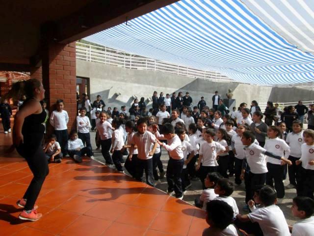 Recreos Activos se toman las escuelas municipales de Vallenar