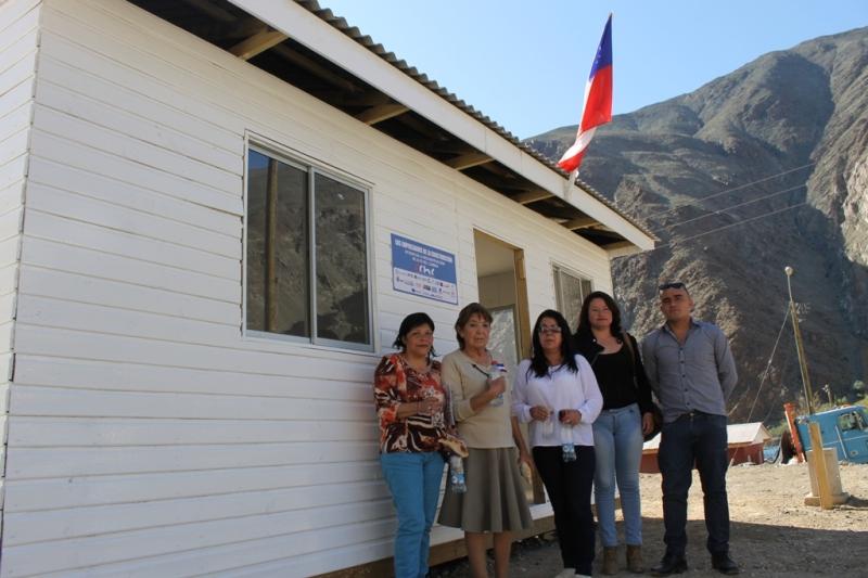 Entregan viviendas a 20 familias de Alto del Carmen y se concreta primer compromiso de reconstrucción
