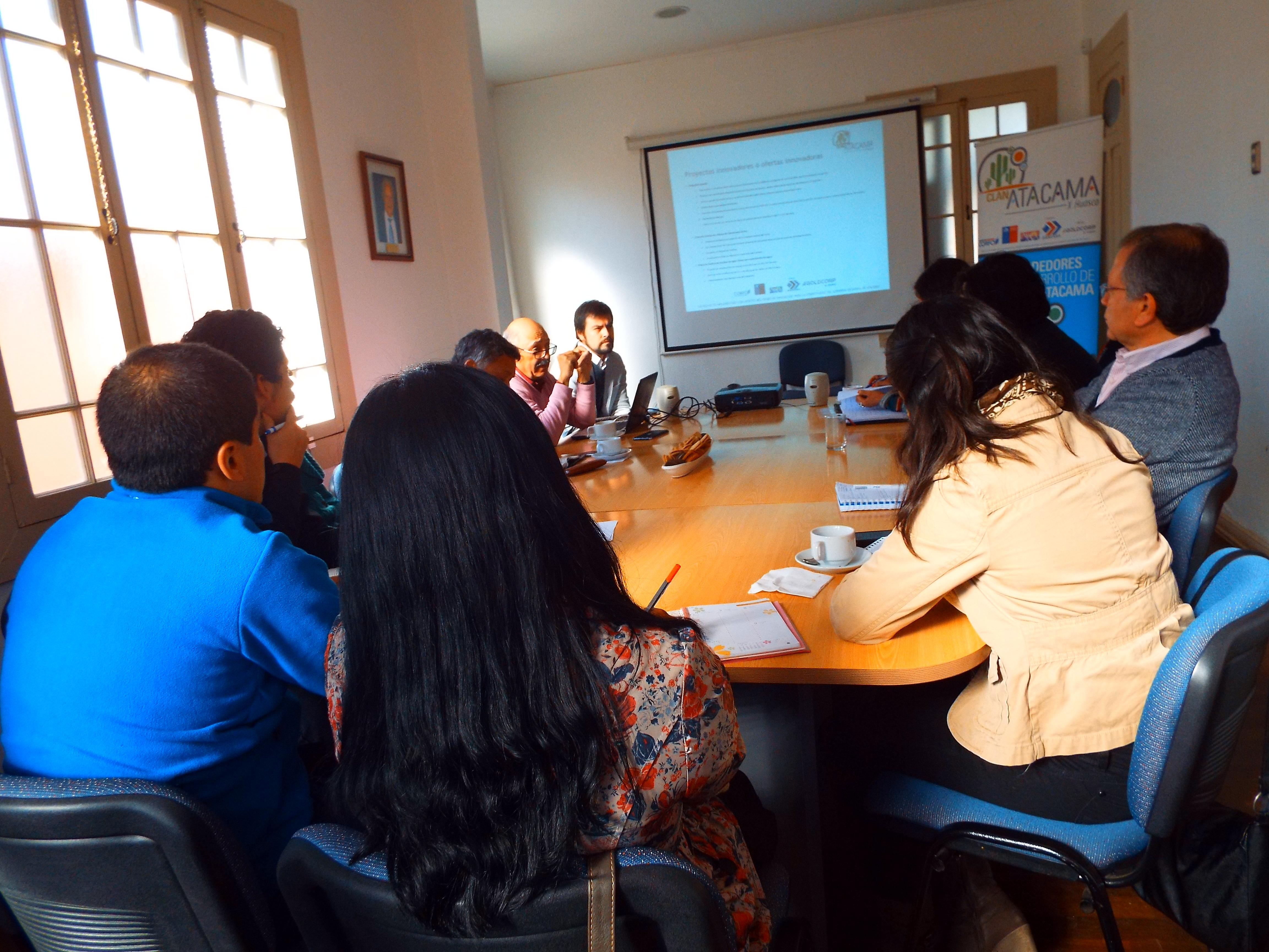 """""""Clan Atacama X Huasco"""" evalúa proyectos para levantar la economía de la provincia"""