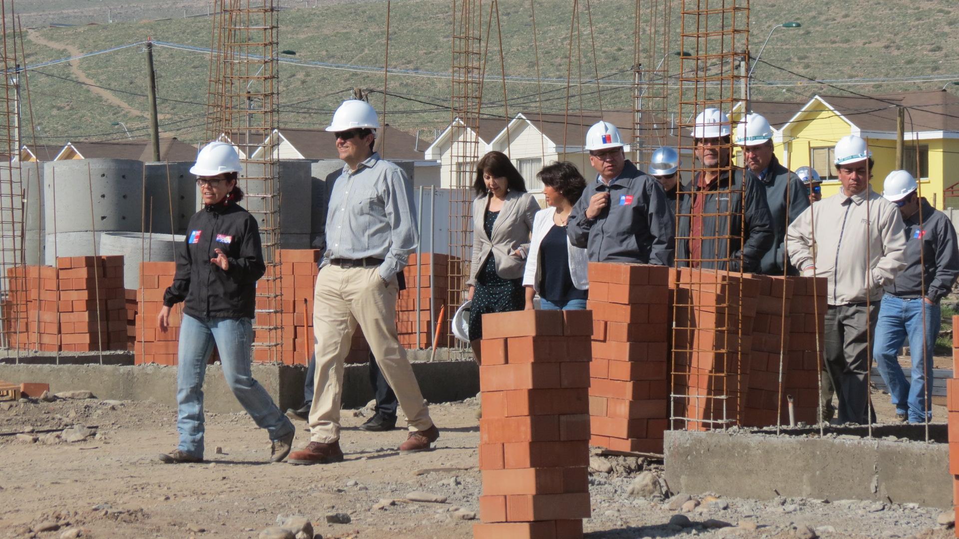 12% de avance tienen 184 viviendas que se construyen en Altos del Valle en Vallenar