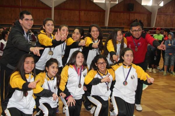 Liceo San Francisco Vallenar, básquetbol damas