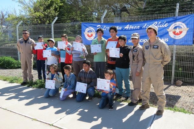 Estudiantes fueron beneficiados con vuelos gratis por Vallenar