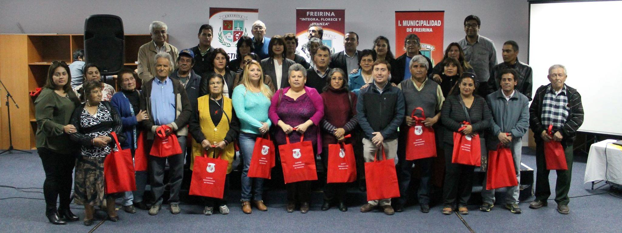Municipio de Freirina celebró el Día del Dirigente Vecinal y Comunitario