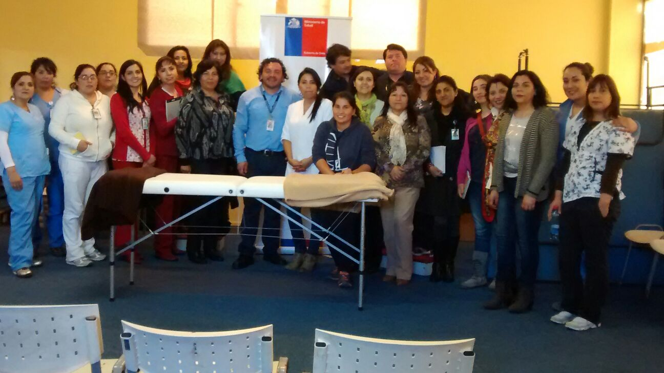 HPH capacita a funcionarios en Masoterapia con enfoque étnico