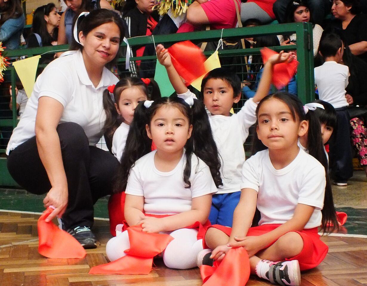 Exitosa muestra de actividades físicas realizan jardines infantiles de Integra en Vallenar