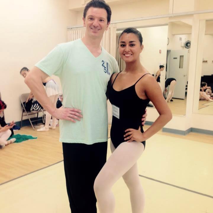 """Joven bailarina de Chigüinto recibe invitación para formar parte de curso profesional en """"Joffrey Ballet School de New York"""" en EE.UU"""