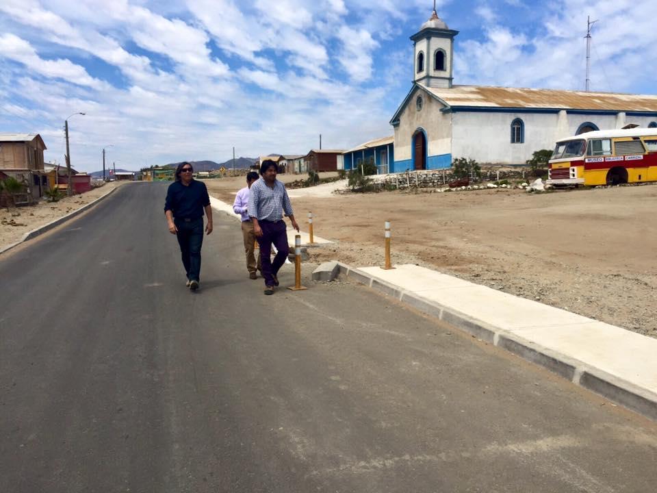 Anuncian construcción alcantarillado en Carrizal Bajo