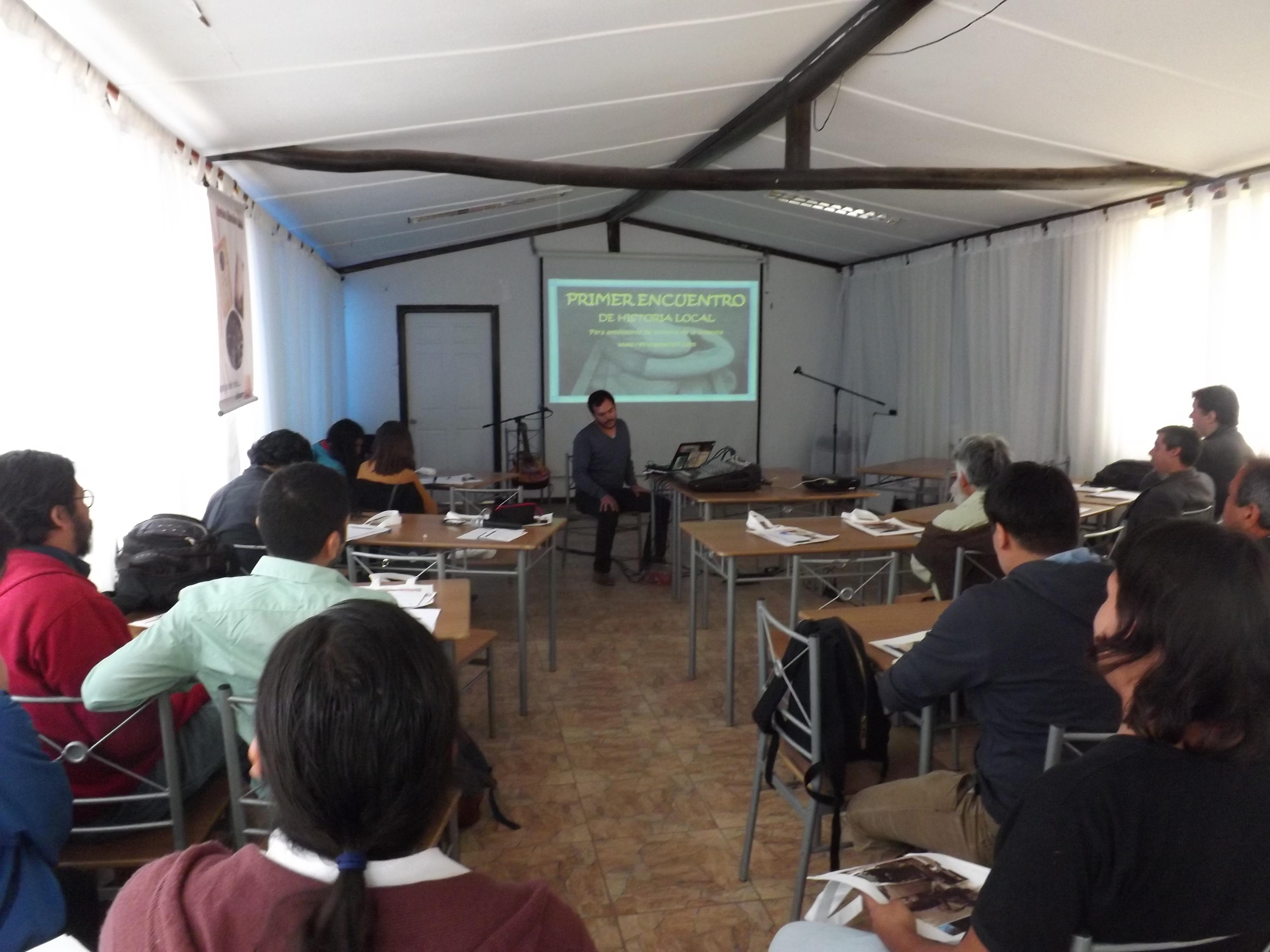 Realizan primer Encuentro de Historia Local en Vallenar