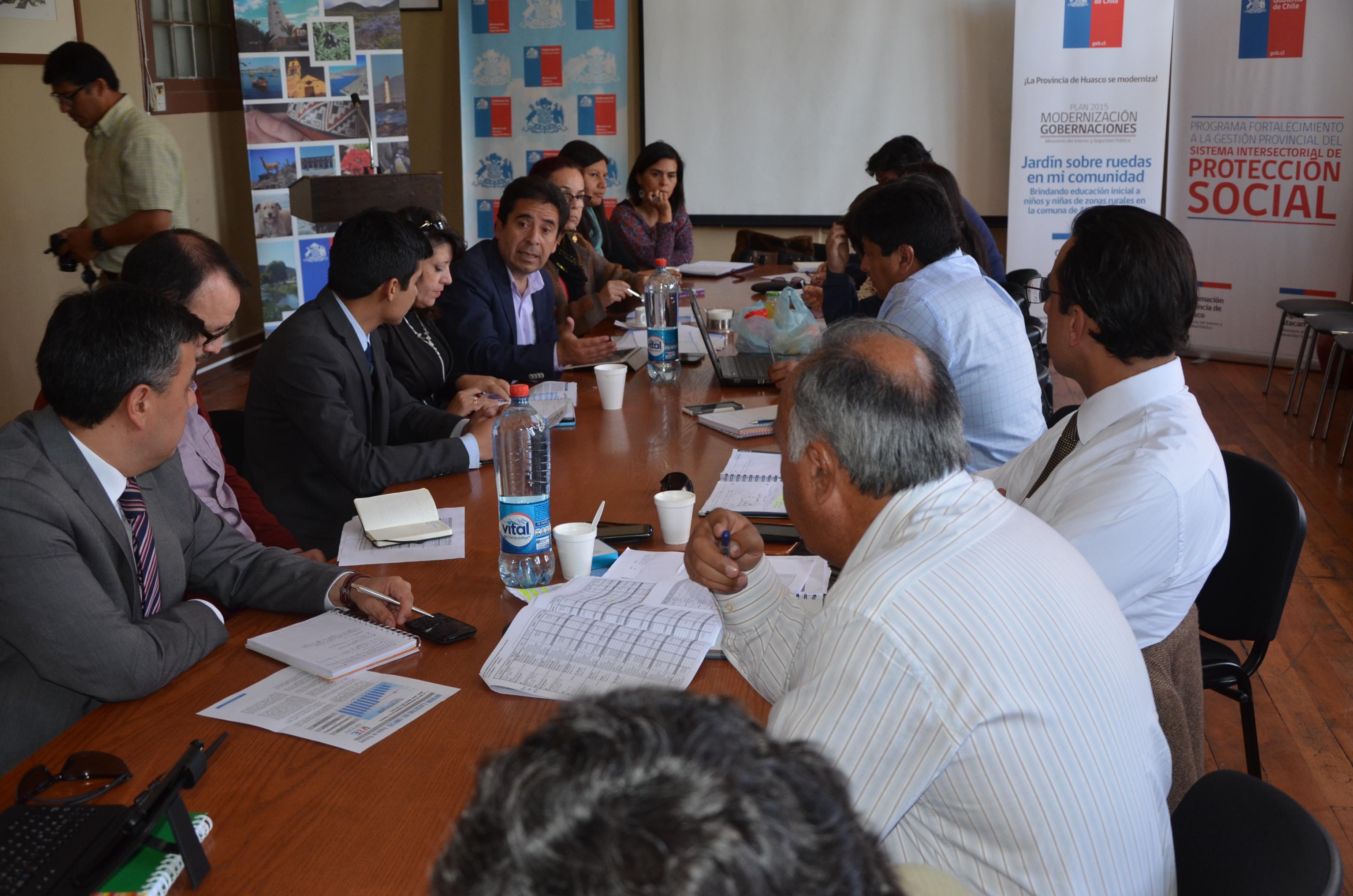 Anuncian 1500 empleos en diversas obras públicas para el Huasco en 2016