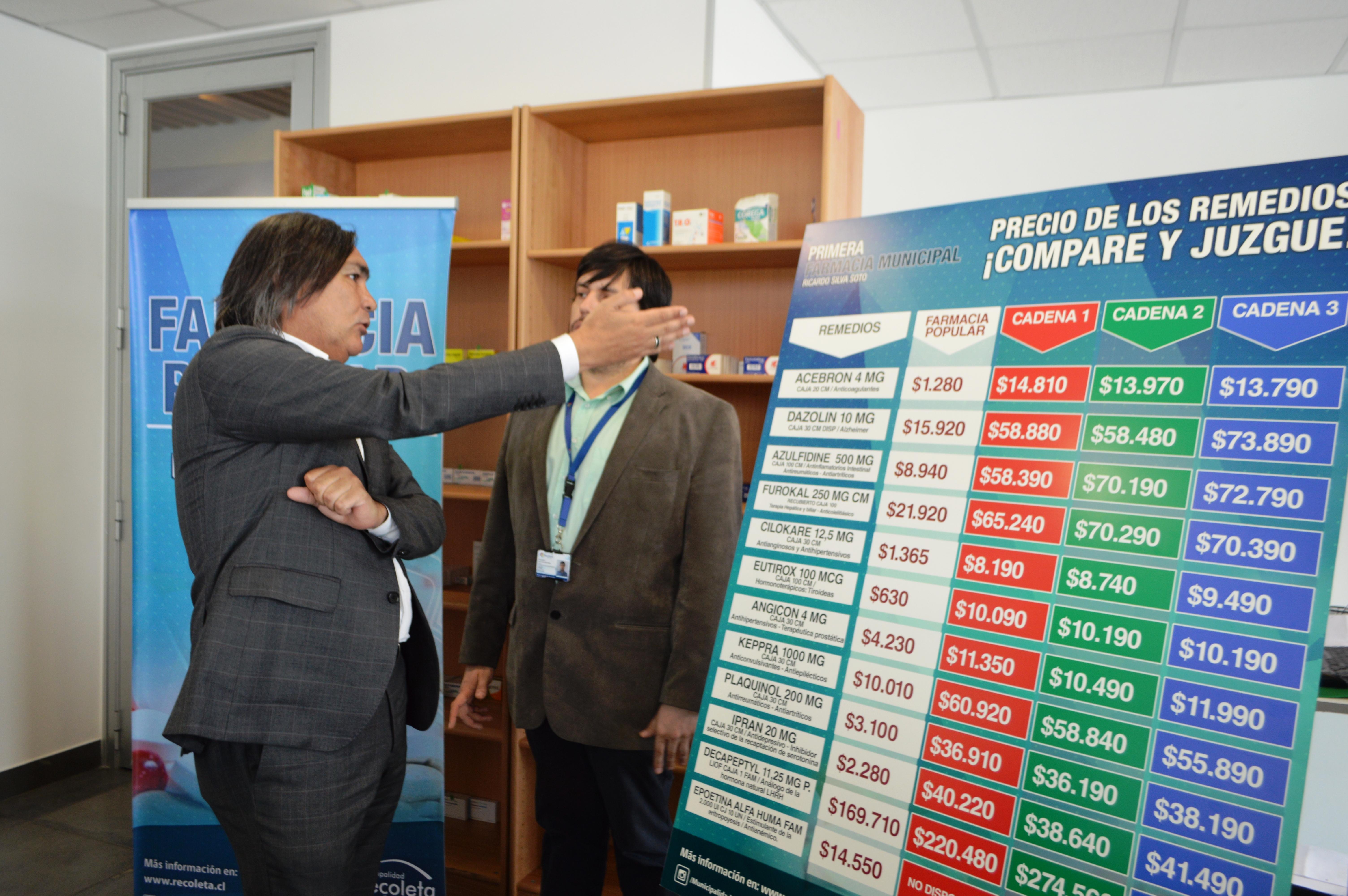 Huasco anunció farmacia popular para la comuna
