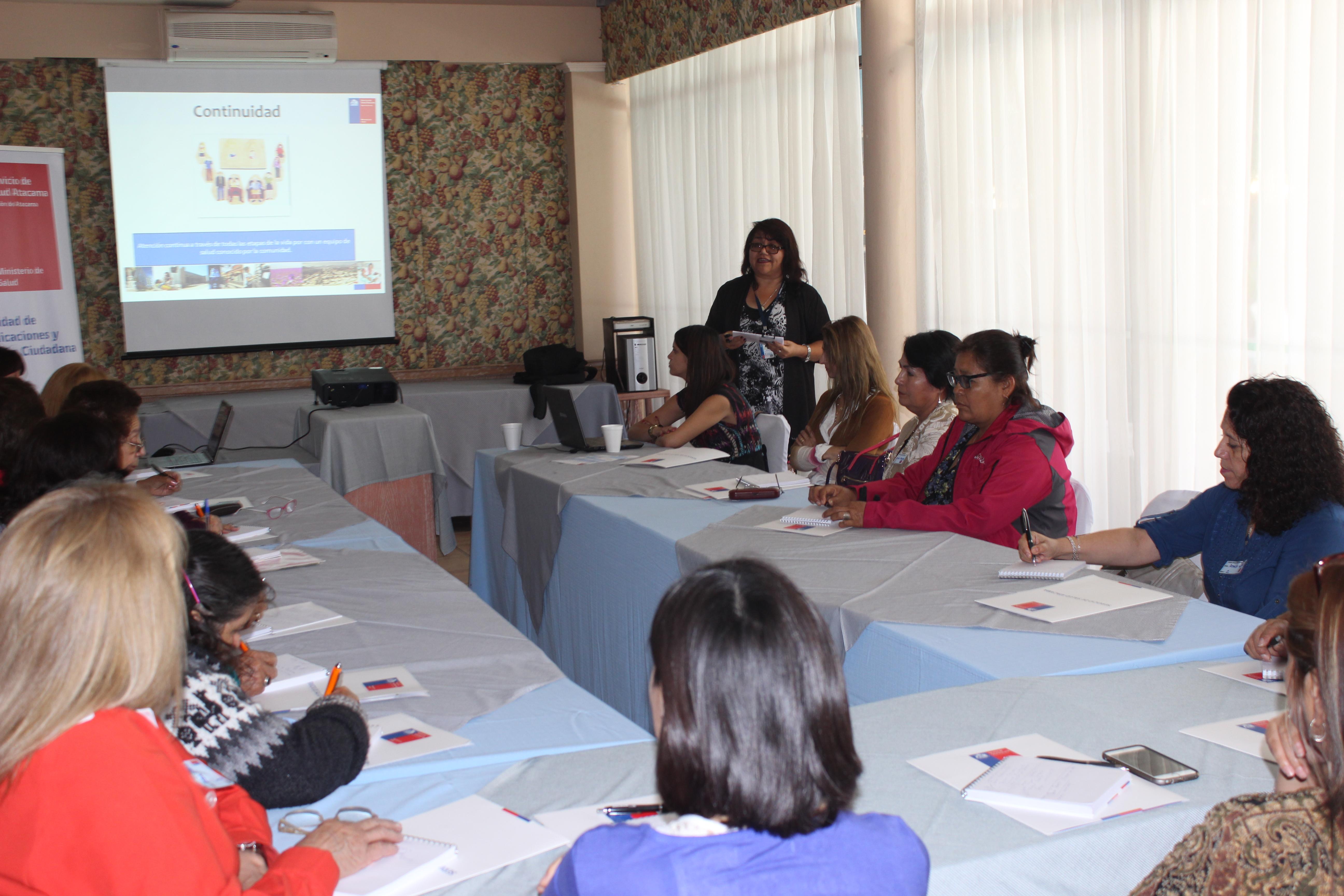 Vecinos y dirigentes de la Provincia del Huasco se reúnen en un nuevo Diálogo Ciudadano de Salud