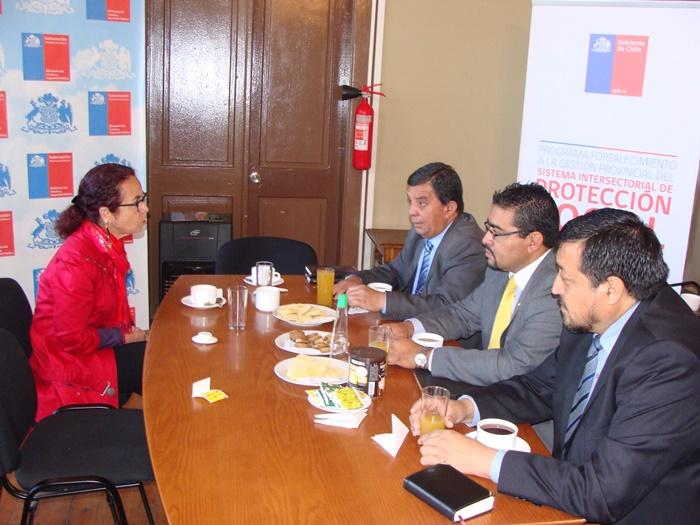 Gobernadora del Huasco se reunió con representantes del consejo de pastores de Iglesias Evangélicas