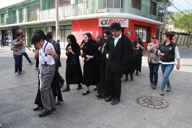 """Recrean """"Fiesta de la primavera"""" en Vallenar"""