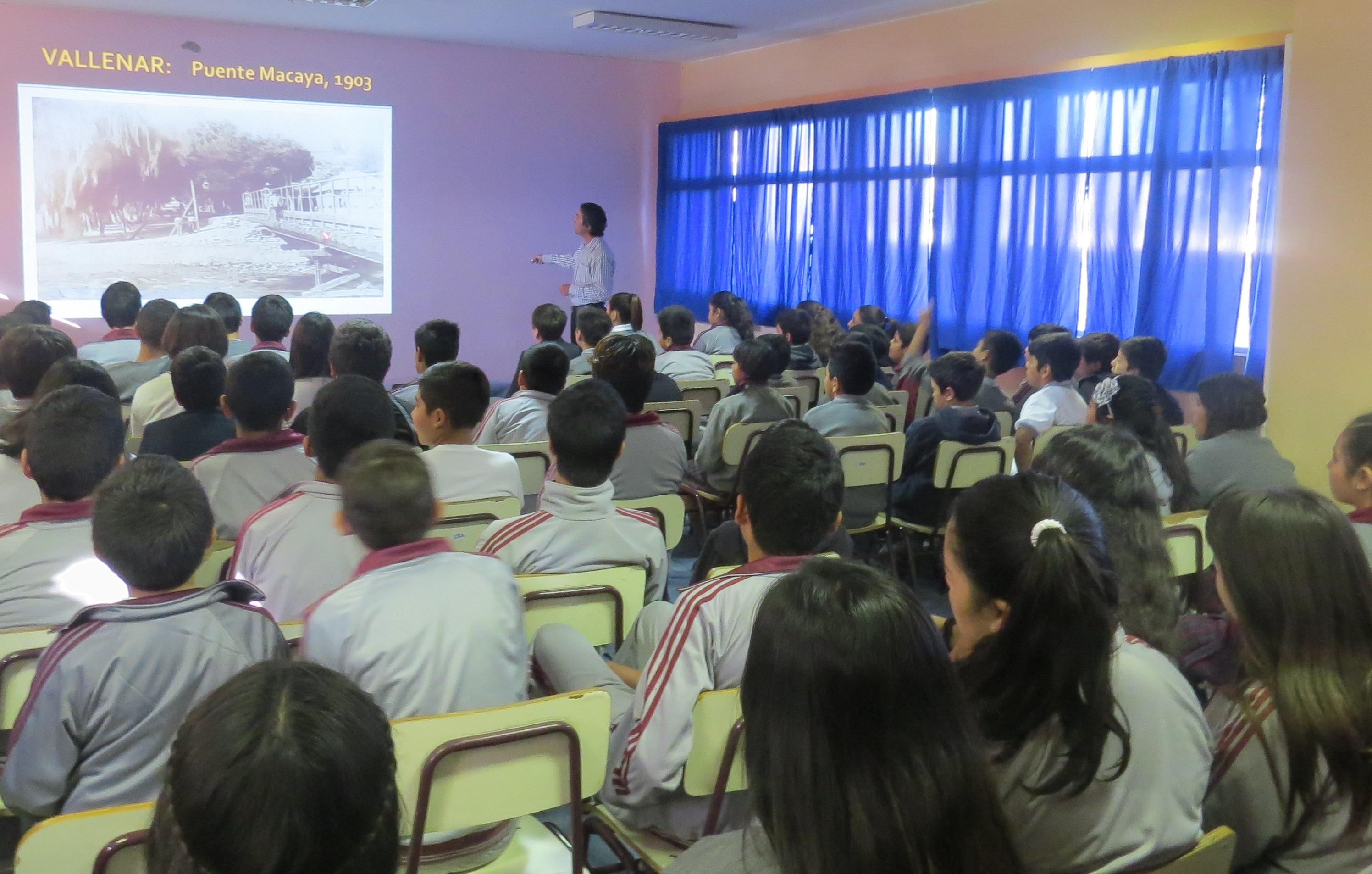 La Historia y Cultura del Valle del Huaco entra a las aulas de Vallenar