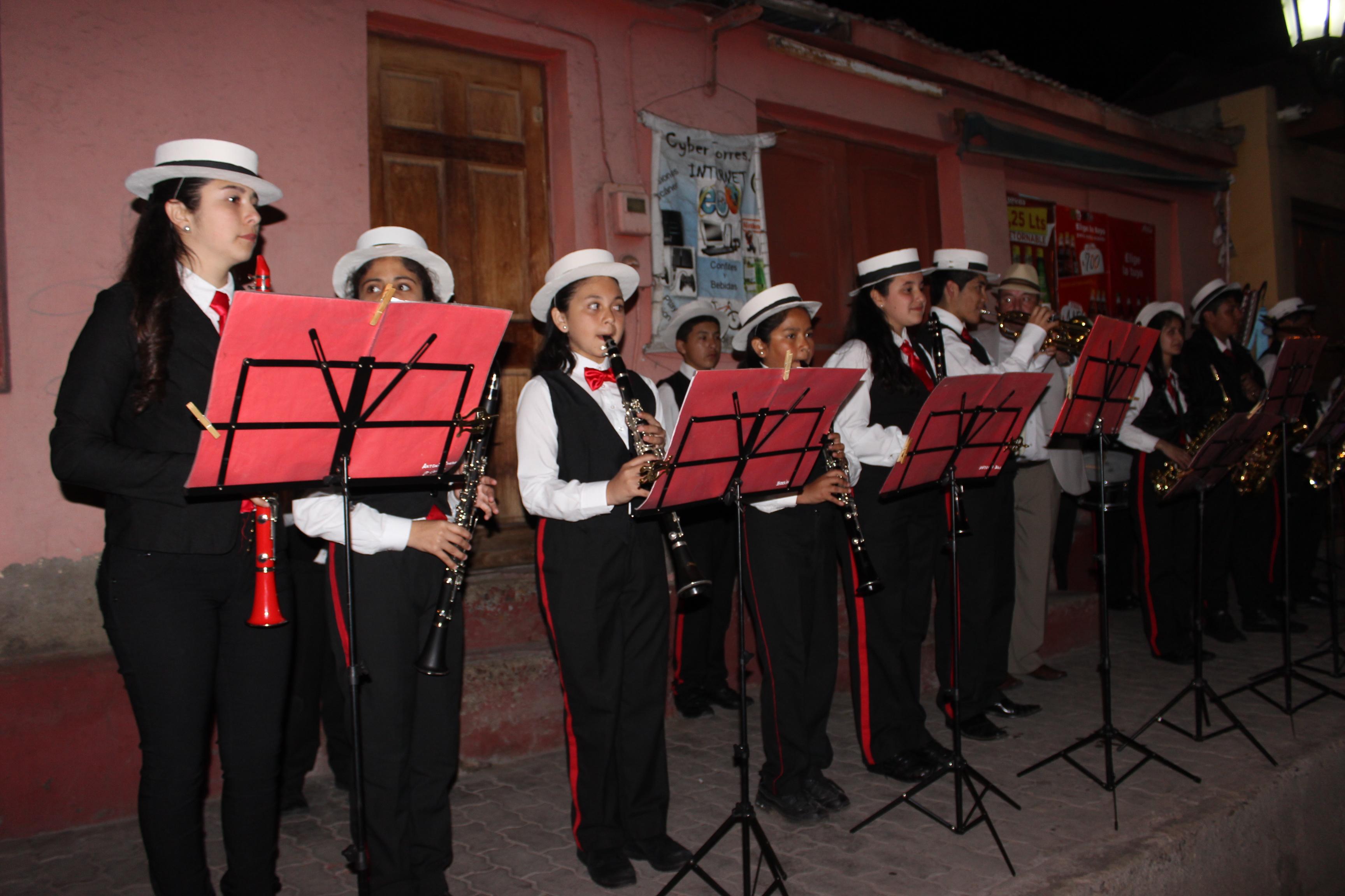 Freirina celebró la noche colonial y del recuerdo un nuevo aniversario