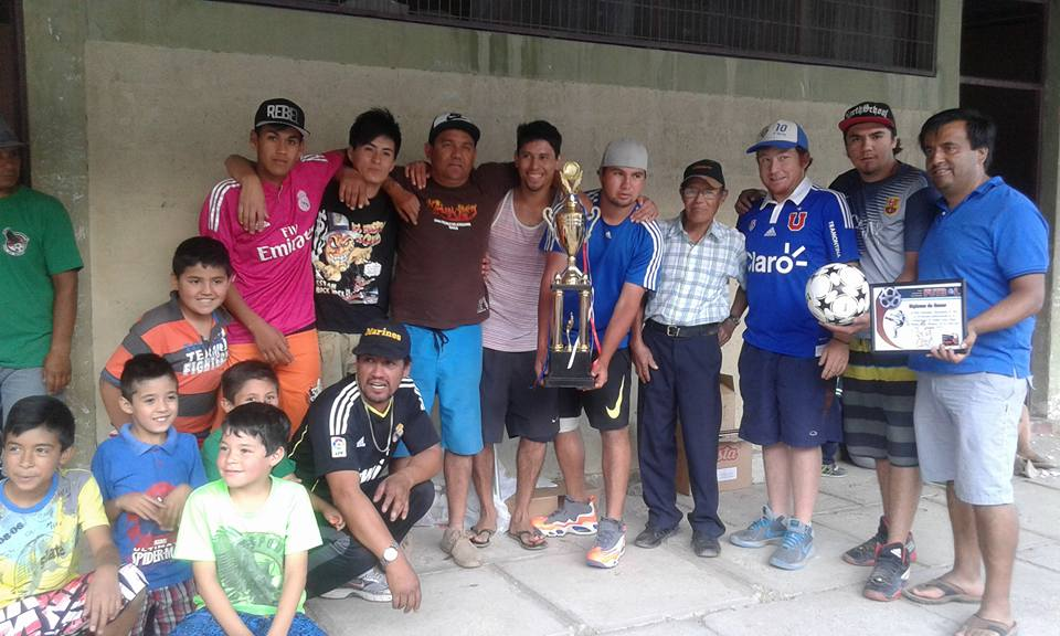 En Alto del Carmen coronan a los mejores del fútbol dominical