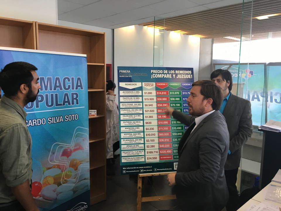 Alcalde de Freirina gestiona instalar farmacia popular en la comuna